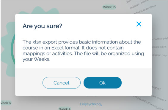 How do I export a course as an Excel file? – Coursetune Support